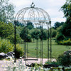 Scroll Dome Iron Gazebo - custom sizes, styles available
