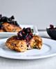 Sweet Potato Quinoa Cakes with Blackberry Salsa - (Free Recipe below)