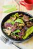 Asian Beef with Mushrooms & Snow Peas - (Free Recipe below)