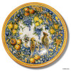 """Montelupo Birds Large 26"""" Wall Plate"""