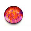 "Arda Glassware Batique 15"" Platter Set - multiple colors"