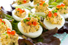 Smoked Oyster Deviled Eggs - (Free Recipe below)