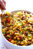 EASY BREAKFAST CASSEROLE WITH SAUSAGE, HASHBROWNS AND EGGS - (Free Recipe below)