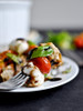 Roasted Tomato Caprese Panzanella - (Free Recipe below)