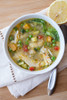 Lemon Chicken & Vegetable Soup - (Free Recipe below)