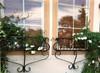 Custom Wrought Iron Window Box Planter - many sizes, designs