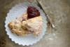Strawberry Rhubarb Scones - One Dozen w/ recipe below