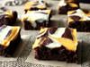 Pumpkin Cheesecake Swirled Brownies - One Dozen w/ recipe below
