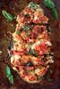 Skinny Sausage Parmesan Stuffed Eggplant - (Free Recipe below)