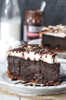Smores Chocolate Cheesecake  w/ recipe below