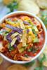 FRESH CHICKEN TORTILLA SOUP - (Free Recipe below)