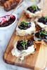 Blueberry Basil Balsamic Mozzarella Crisps - (Free Recipe below)