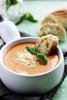 TOMATO BASIL PARMESAN SOUP - (Free Recipe below)