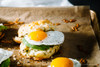 Cheddar, Avocado, Egg & Green Onion Biscuit Sandwich - (Free Recipe below)