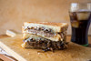 Bistro Style Patty Melt with Havarti Cheese, Caramelized Onions - (Free Recipe below)