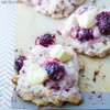 BLACKBERRY & BRIE SCONES - (Free Recipe below)