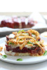 Meatloaf Sandwiches with Crispy Onions and Melted Mozzarella Cheese - (Free Recipe below)