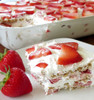 Strawberry Icebox Cake - (Free Recipe below)