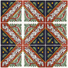 "Talavera Tile - TIL052 - Box of 40 -  6"" x 6"""