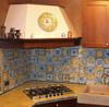 "Italian Ceramic Backsplash Tiles  8"" x 8"" - many sizes available / custom designs"