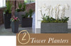 "Tower Planter - 13.5"" x 37.5"""