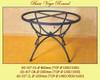Vega Wrought Iron Table Base - multiple sizes available
