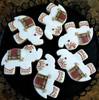 Mehndi Elephant Cookies - One Dozen