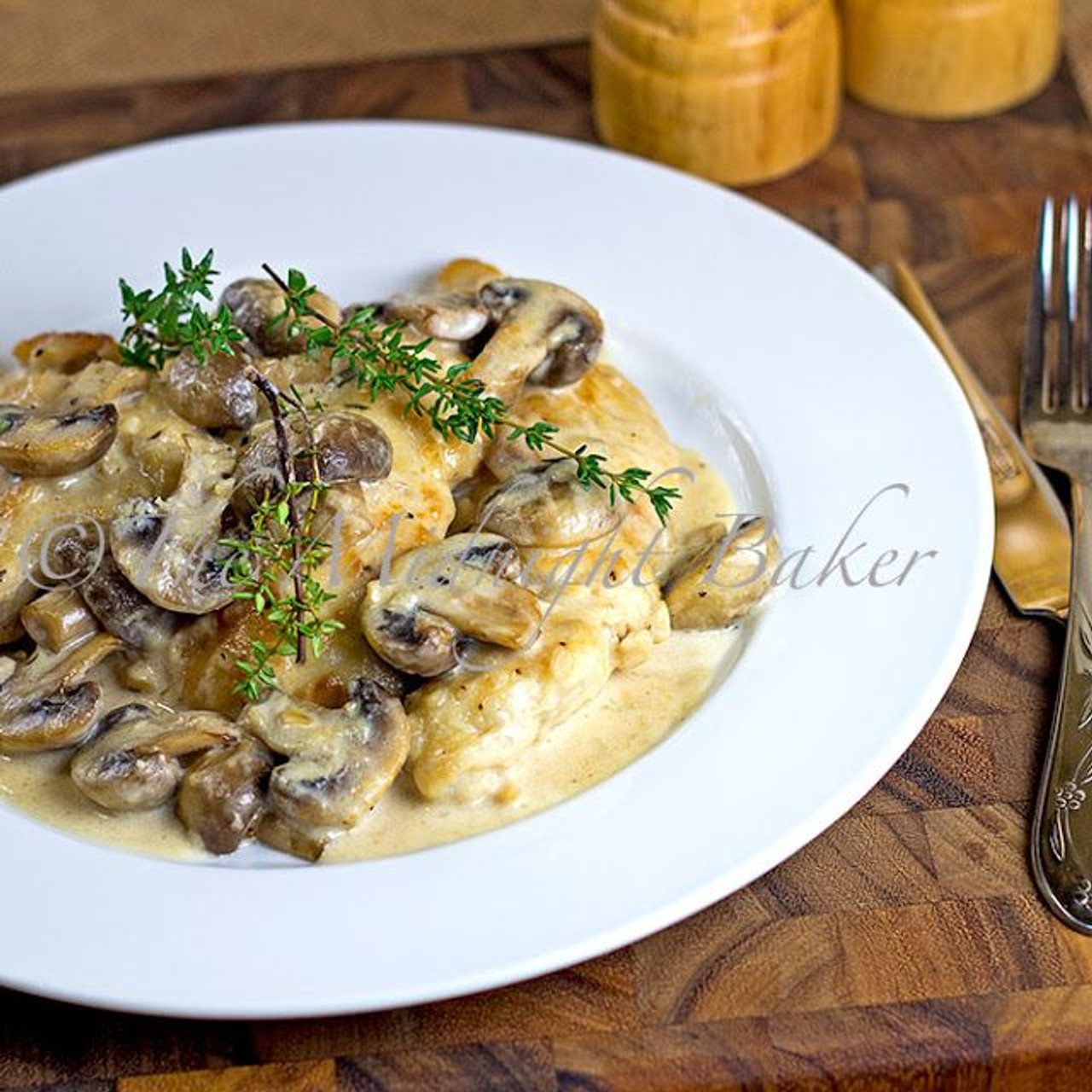 Mushroom Asiago Chicken With Pasta Free Recipe Below