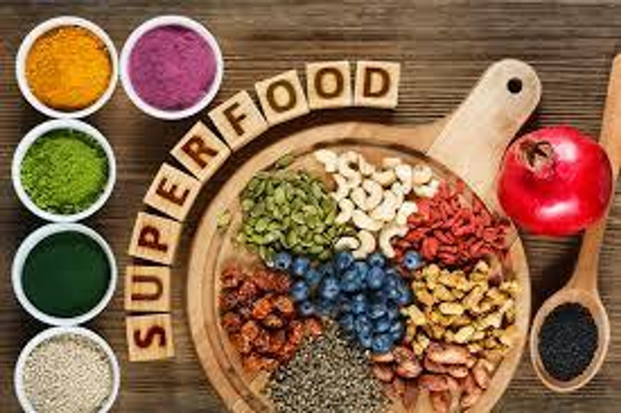 Superfoods/Gluten Free/Vegan/DF