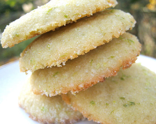 Sugar Lime Cookies Sugar Cookies All Natural - One Dozen