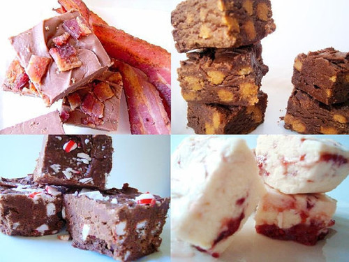 Our Gourmet Fudge Sampler - 4 Flavors of Choice