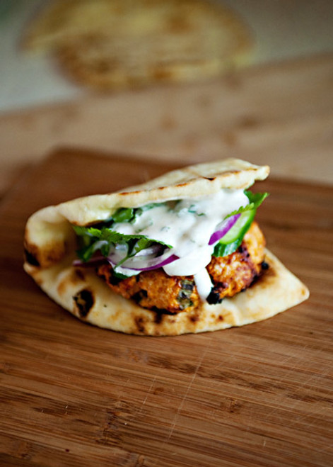 Tandori Chicken Burgers - (Free Recipe below)