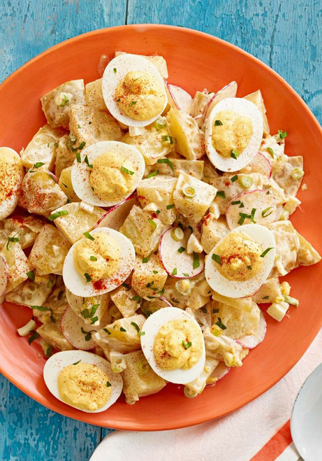 Deviled Egg Potato Salad - (Free Recipe below)