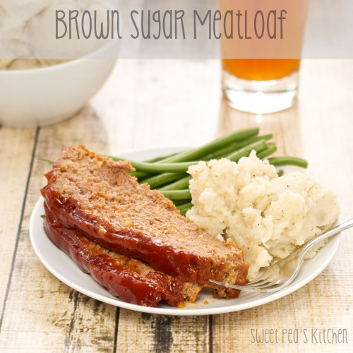 Brown Sugar Meatloaf - (Free Recipe below)