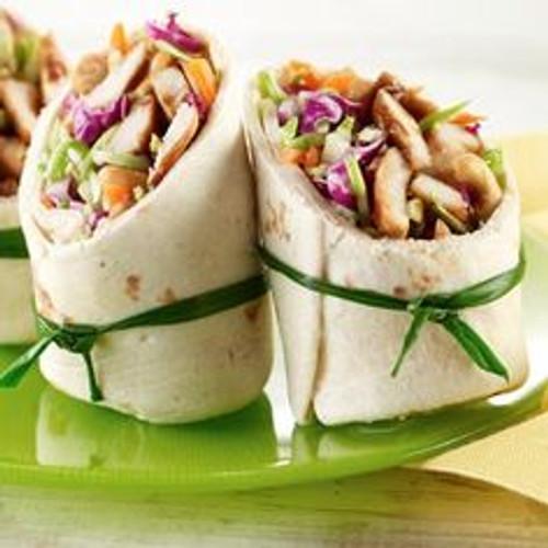 Moms Teriyaki Chicken Wraps - (Free Recipe below)