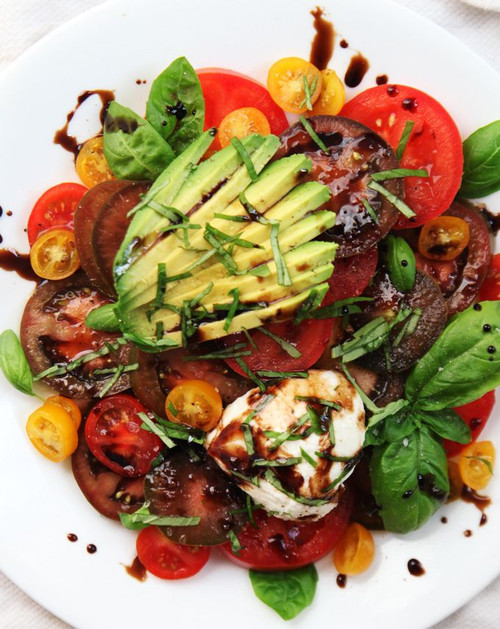 Summer Avocado & Tomatoes Salad - (Free Recipe below)