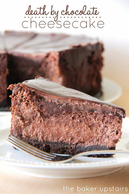 Death by Chocolate Cheesecake - (Free Recipe below)