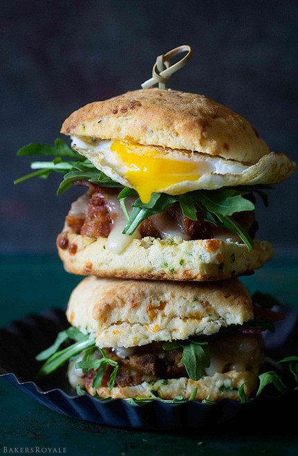 Epic Meatloaf Cheddar Biscuit Sliders - (Free Recipe below)