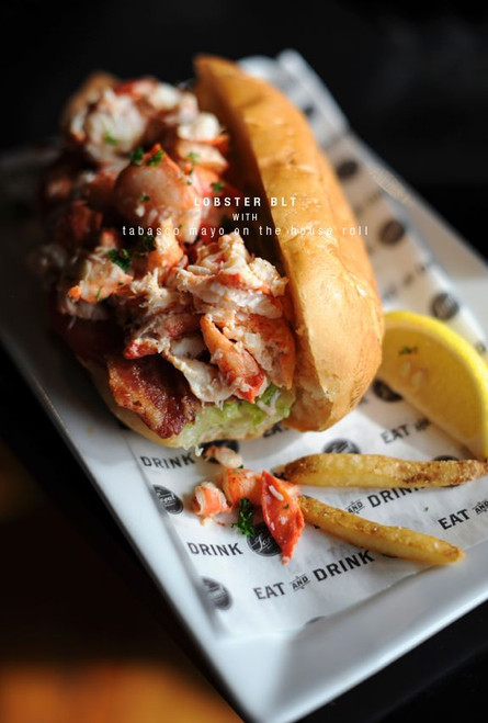 Lobster Rolls w/ Lemon Vinegarette and Garlic Butter - (Free Recipe below)