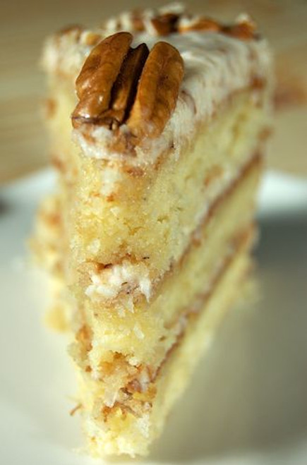 Italian Cream Cake - (Free Recipe below)