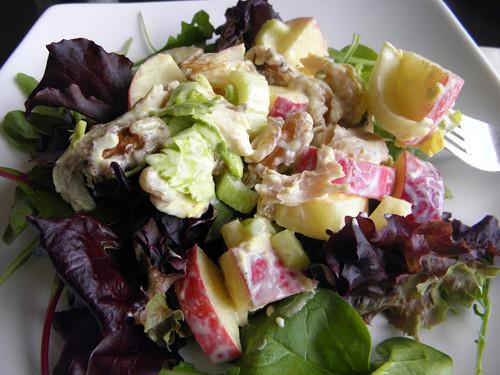 Curried Chicken Waldorf Salad - (Free Recipe below)
