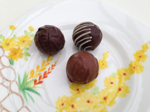 Chocolate Truffles Assortment - One Dozen