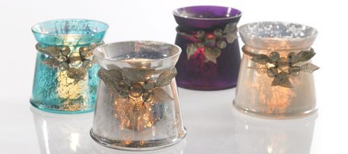 Devine Votive Candle Holder - multiple colors available