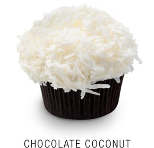 Chocolate Coconut Cupcakes - One Dozen