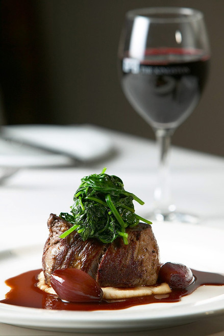 Filet Mignon with Red Wine Sauce - (Free Recipe below)