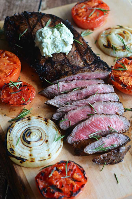 Food Networks Worlds Best Grilled Steak - (Free Recipe below)