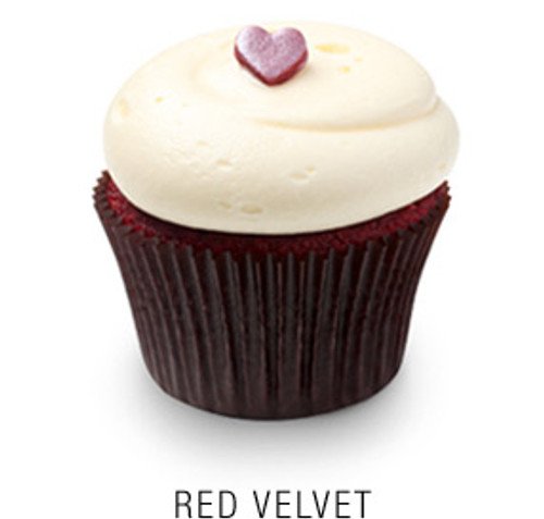 Red Velvet Cupcakes - One Dozen