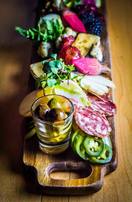 Museum Antipasti Assorted Meat and Cheese Plate - (Free Recipe below)