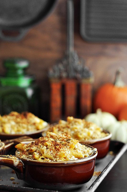 Pumpkin Mac and Cheese - (Free Recipe below)
