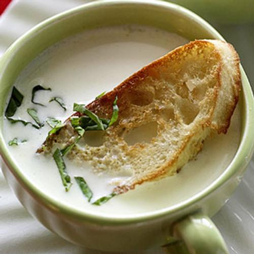 Creamy Brie Soup - (Free Recipe below)